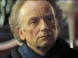 ian McDiarmid portrays Sentator Palpatine of Naboo, a political player who is destined to obtain even greater power in STAR WARS: THE PHANTOM MENACE. © Lucasfilm Ltd. & TM. All Rights Reserved.